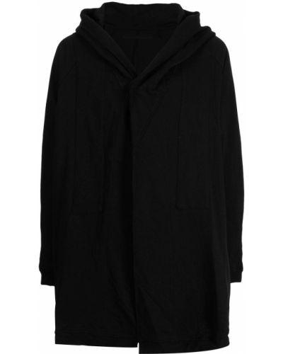Czarna kurtka z kapturem Julius