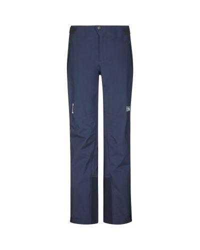 Прямые синие брюки мембранные Mountain Hardwear