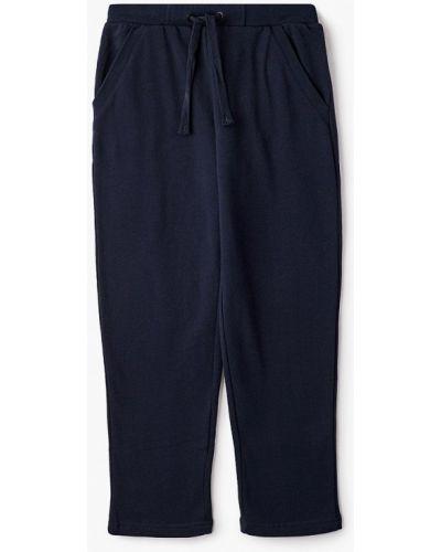 Расклешенные свободные синие спортивные брюки Finn Flare