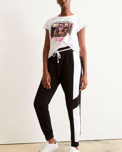 Czarne spodnie bawełniane Undiz