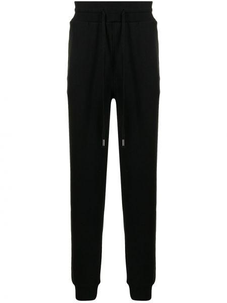 Spodnie z wysokim stanem - czarne True Religion
