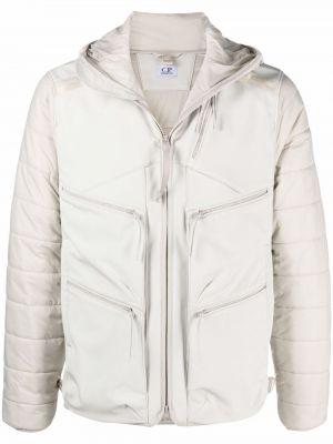 Куртка с капюшоном - белая C.p. Company