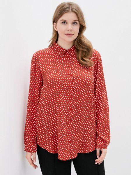 Блузка с длинным рукавом весенний красная Rosa Thea