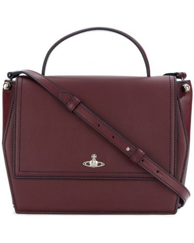 Кожаный сумка сэтчел на плечо Vivienne Westwood