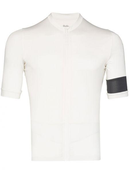 Biały t-shirt krótki rękaw z printem Rapha