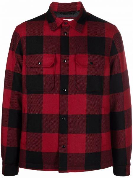Пуховая куртка - черная Woolrich