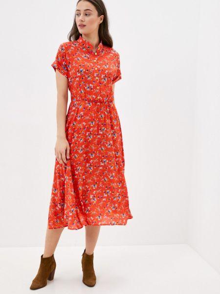 Платье прямое красный Fashion.love.story