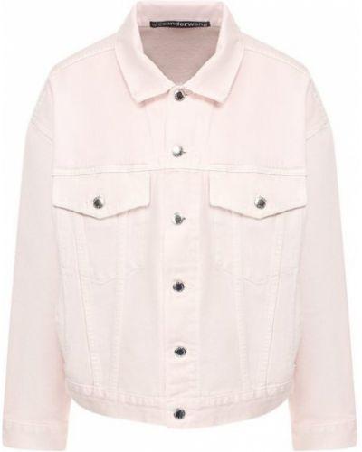 Джинсовая куртка розовая Denim X Alexander Wang