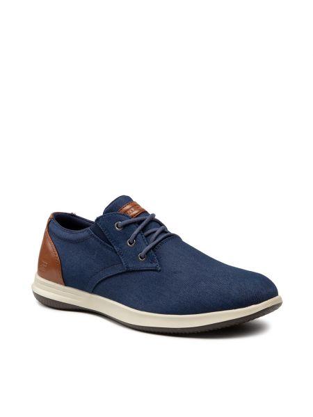 Jeansy - niebieskie Skechers