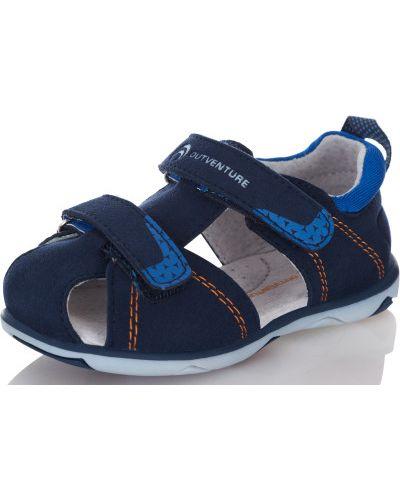 Спортивные сандалии на липучках кожаные Outventure