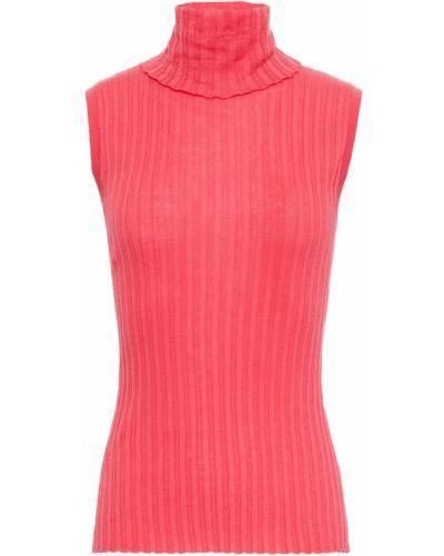 Różowy z kaszmiru sweter Cotton By Autumn Cashmere