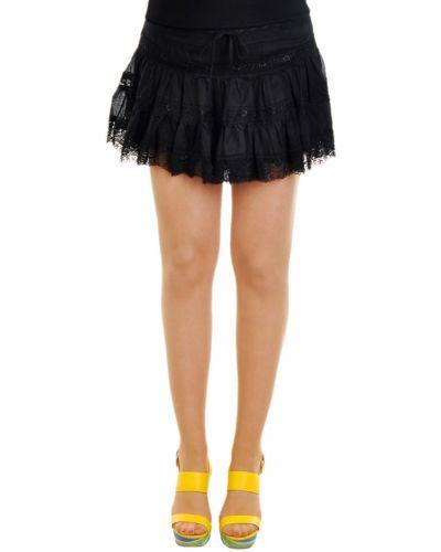 Хлопковая юбка - черная Charo Ruiz