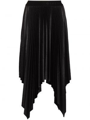 Bawełna pofałdowany czarny spódnica rozciągać Givenchy