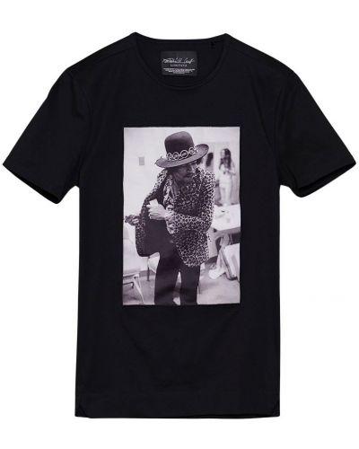 Czarny t-shirt Limitato
