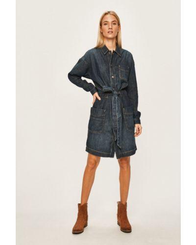 Джинсовое платье мини повседневное Polo Ralph Lauren