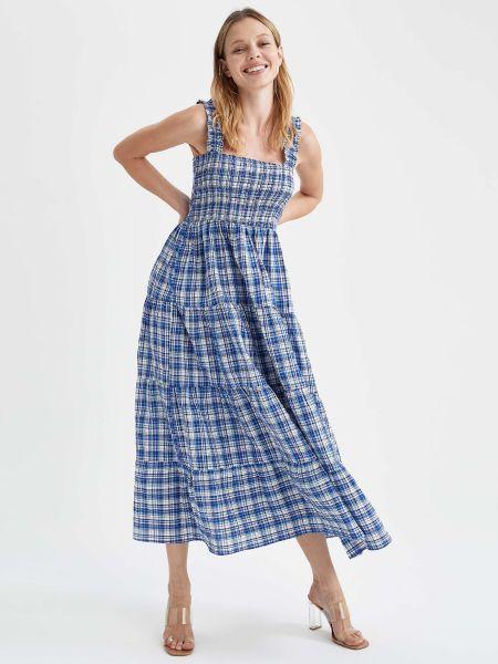 Платье - синее Defacto
