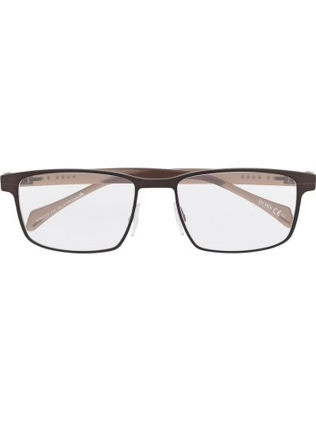 Oprawka do okularów - beżowe Boss