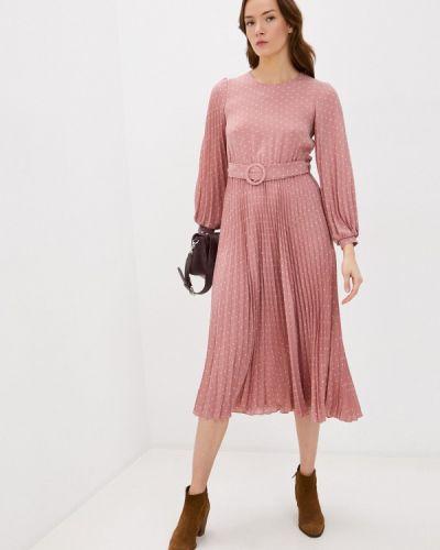 Прямое розовое платье Imocean
