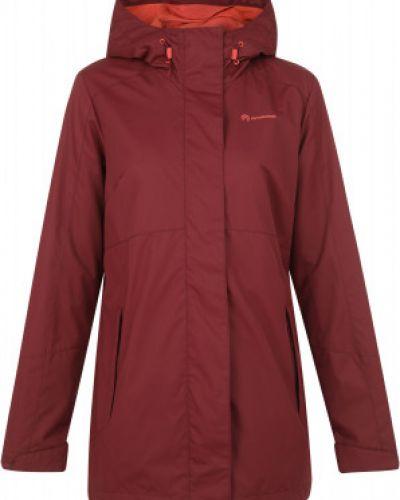 Прямая красная куртка на молнии Outventure