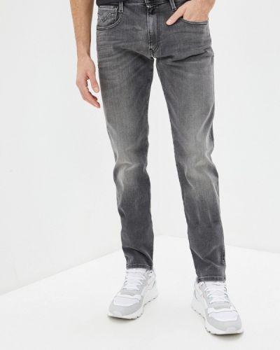 Прямые серые джинсы Replay