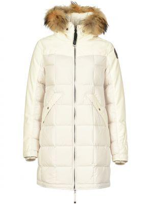 Куртка осенняя белая Parajumpers