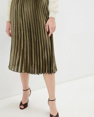 Платье плиссированное осеннее Miss Selfridge