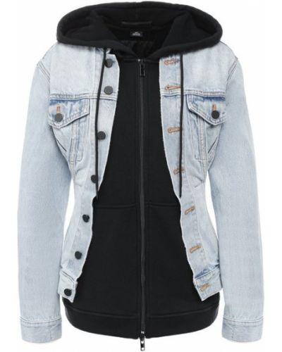 Куртка с капюшоном джинсовая Denim X Alexander Wang