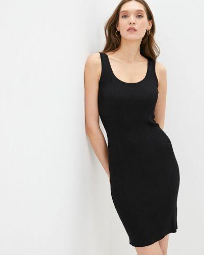 Черное джинсовое платье Guess Jeans