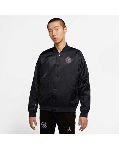Облегченная повседневная черная куртка Jordan