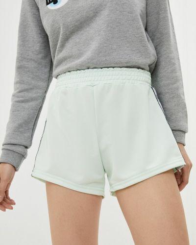 Зеленые повседневные спортивные шорты Chiara Ferragni Collection