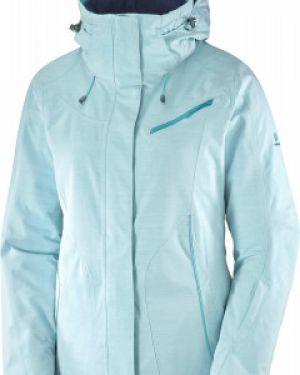 Куртка с капюшоном горнолыжная утепленная Salomon