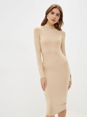 Вязаное платье - бежевое By Swan