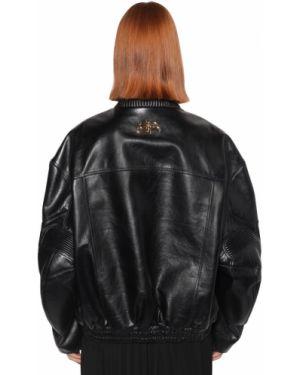 Пиджак в полоску на молнии Balenciaga