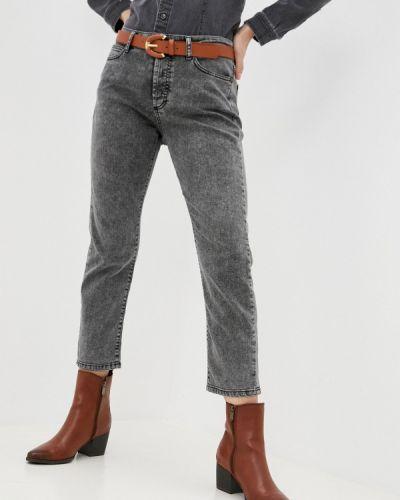 Зауженные джинсы - серые Please