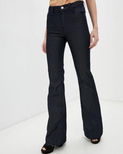Синие расклешенные джинсы свободного кроя Trussardi