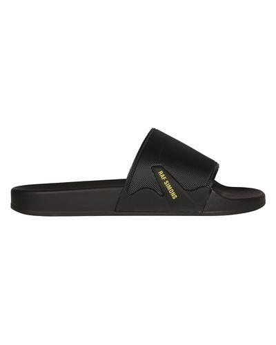 Czarne sandały Raf Simons