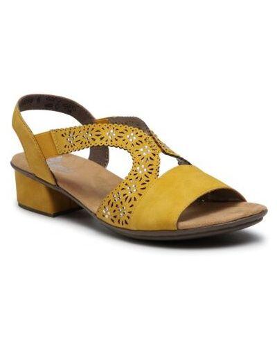 Żółte sandały Ccc