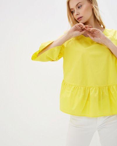 Блузка с длинным рукавом желтый весенний Baon