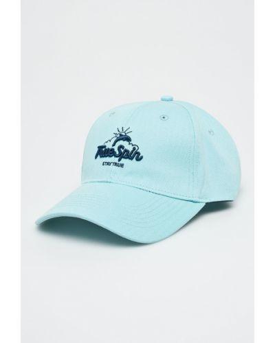Синяя шапка хлопковая True Spin