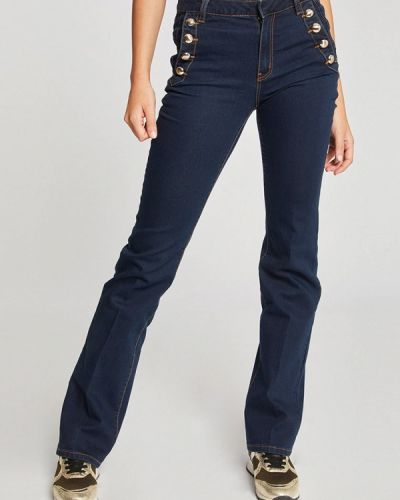 Прямые джинсы синие Morgan