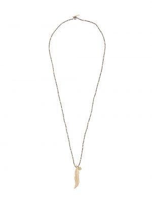 Серебряное ожерелье с подвесками M. Cohen