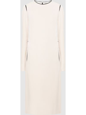 Платье миди - бежевое Lanvin
