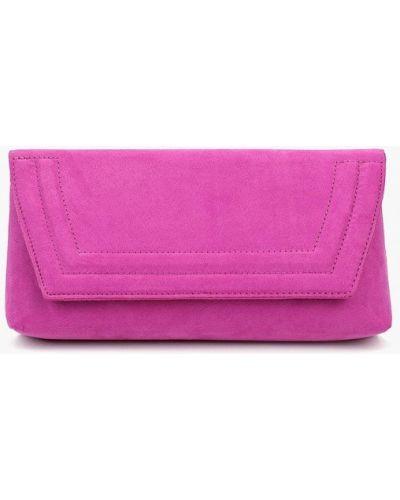 Клатч замшевый розовый Dorothy Perkins