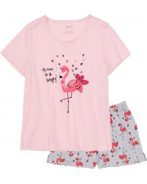 Пижама с шортами пижамный Bonprix