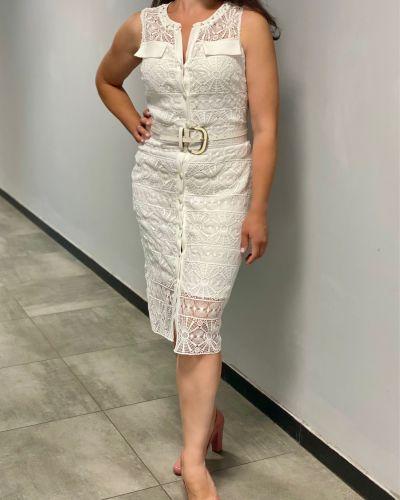 Кружевное платье - белое Phardi
