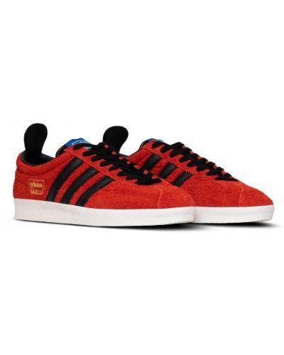 Trampki skorzane - czarne Adidas