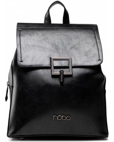 Plecak - czarny Nobo