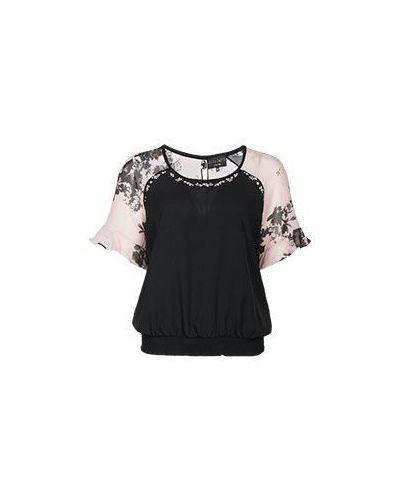 Блузка черный Elisa Fanti