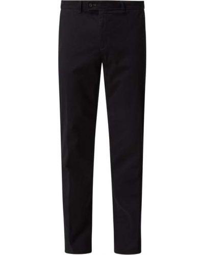 Czarne spodnie bawełniane Brax