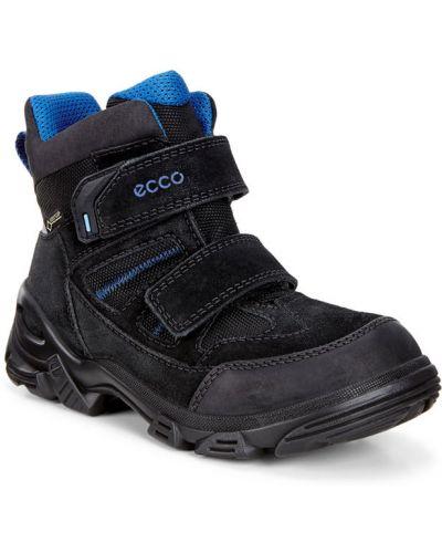 Зимние ботинки текстильные замшевые Ecco